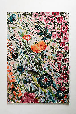 Tufted Wild Bloom Rug by Anthropologie