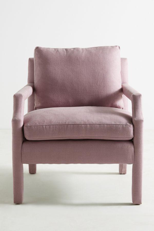 Belgian Linen Delaney Chair