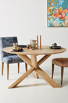 Slide View: 1: Devon Round Dining Table