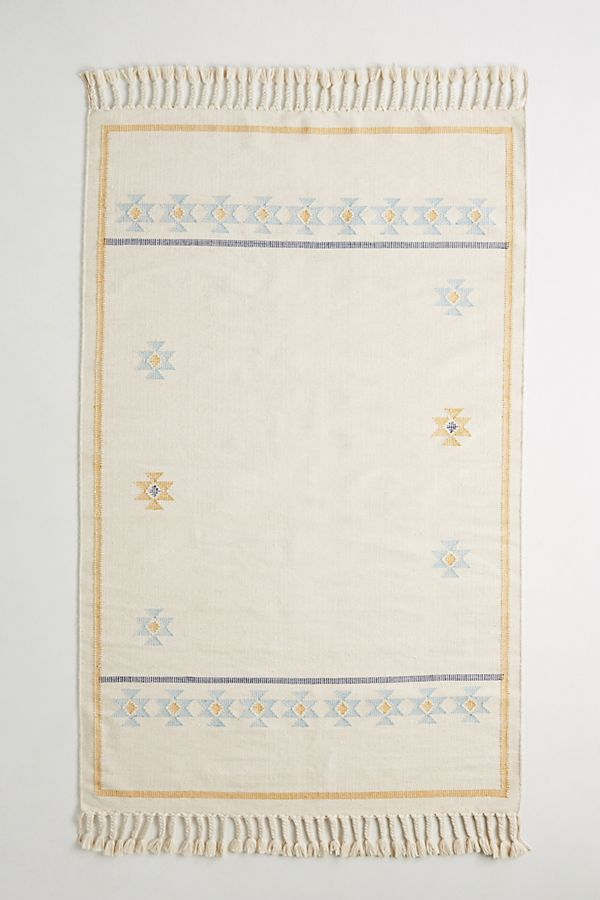 Flatwoven Amina Rug by Anthropologie