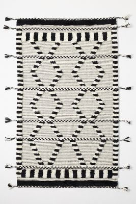 Picture of: Criss Cross Flat Woven Rug Anthropologie