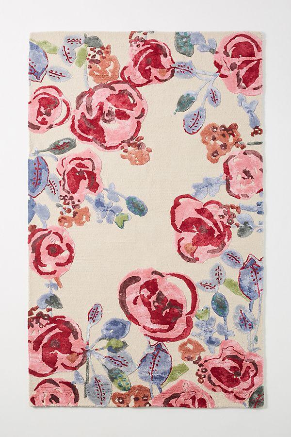 hand-tufted-flora-lynn-rug by anthropologie
