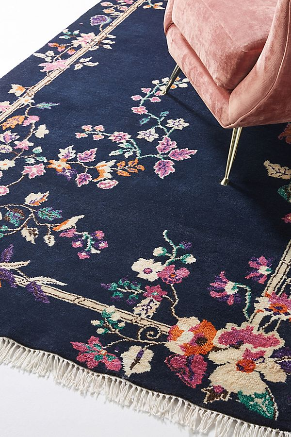 Slide View: 2: Hand-Knotted Ella Rug