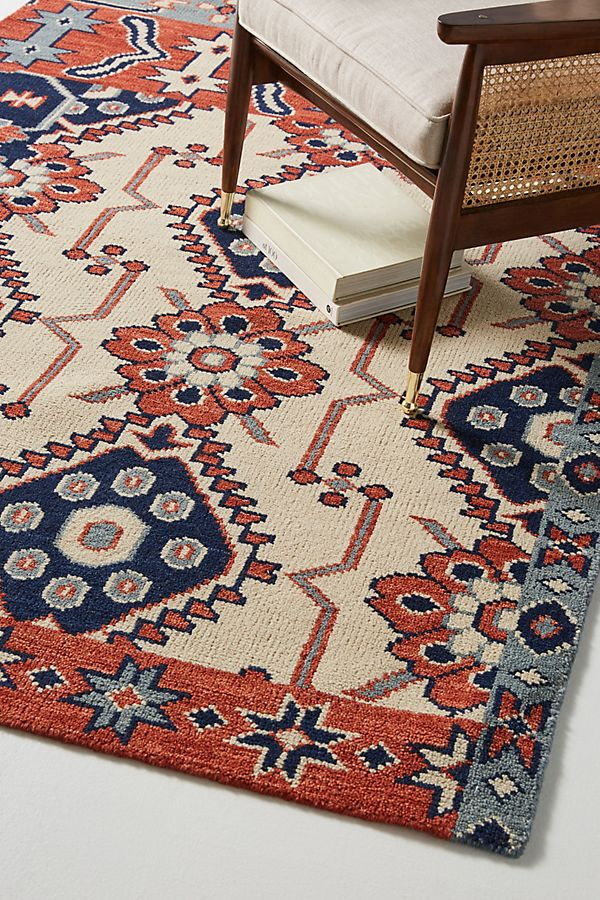 Slide View: 2: Hand-Knotted Cyrus Rug