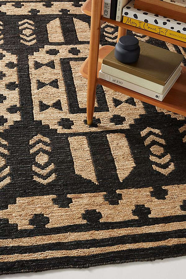 Slide View: 2: Hand-Knotted Casa Jute Rug