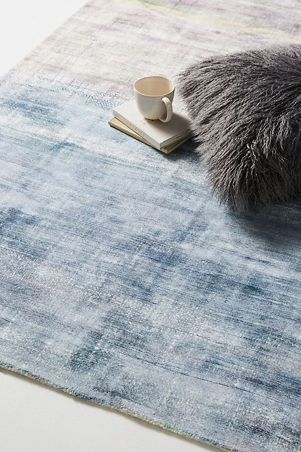 Slide View: 2: Tufted Bryn Viscose Rug