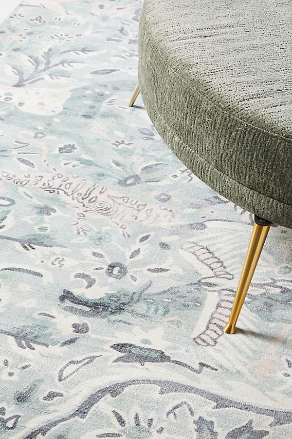 Slide View: 2: Hand-Knotted Sabina Viscose Rug