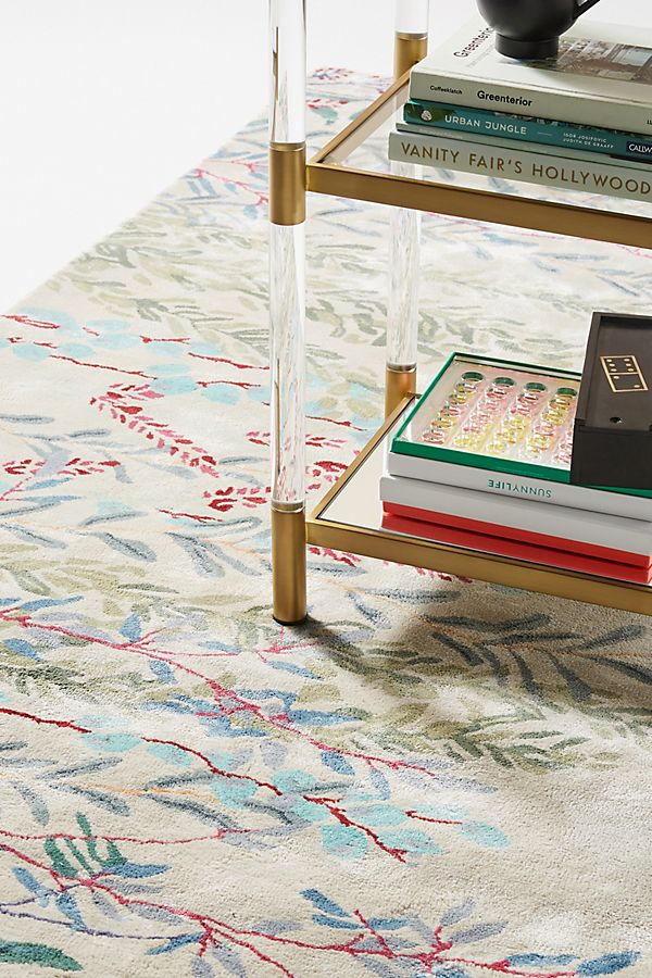 Slide View: 2: Tufted Wheatland Rug