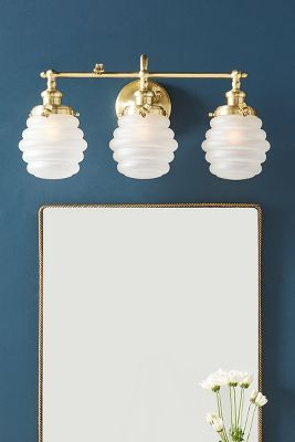 Bumblebee Vanity Sconce by Anthropologie
