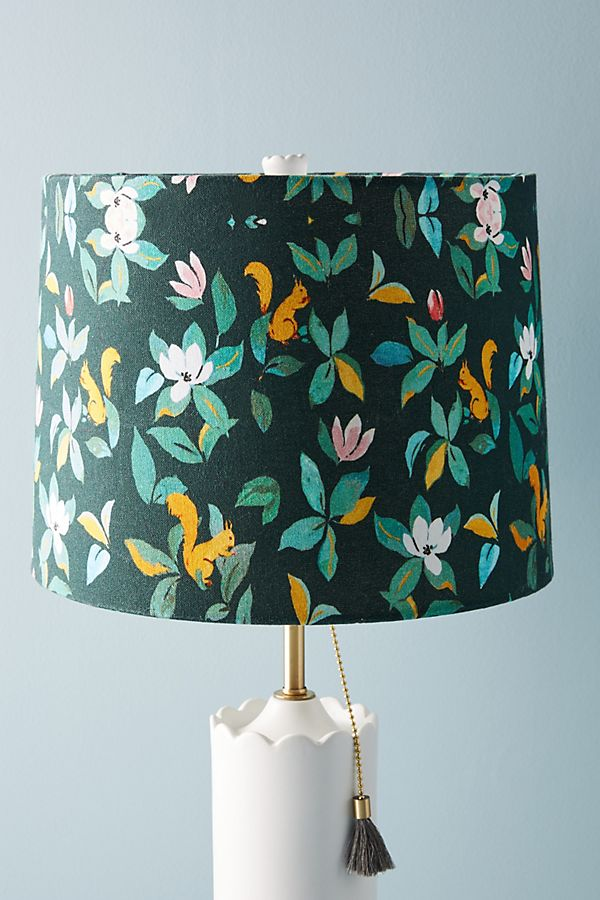 Slide View 1 Paule Marrot Squirrel Lamp Shade