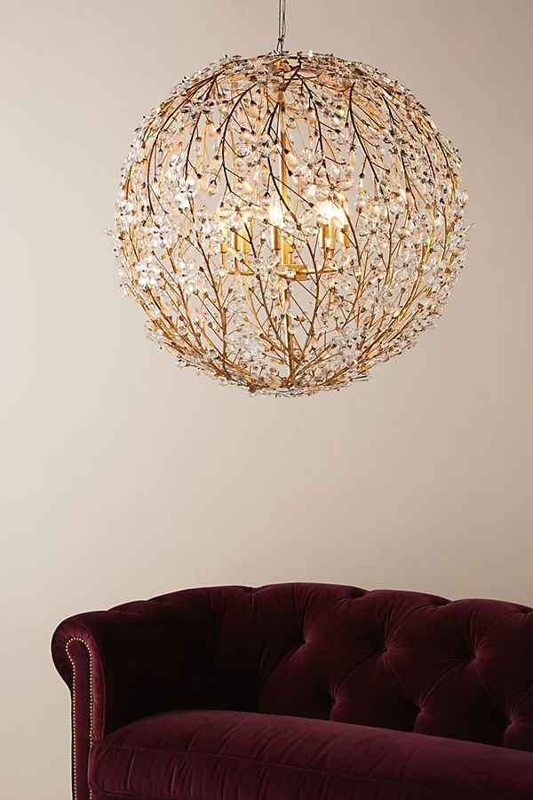 Slide View: 1: Cheshire Chandelier