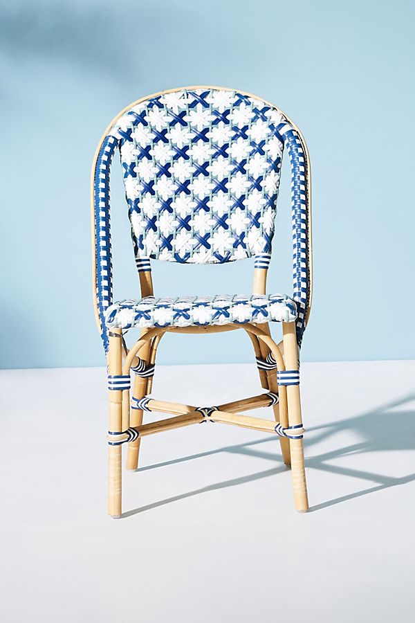 Tremendous Woven Bistro Dining Chair Ibusinesslaw Wood Chair Design Ideas Ibusinesslaworg