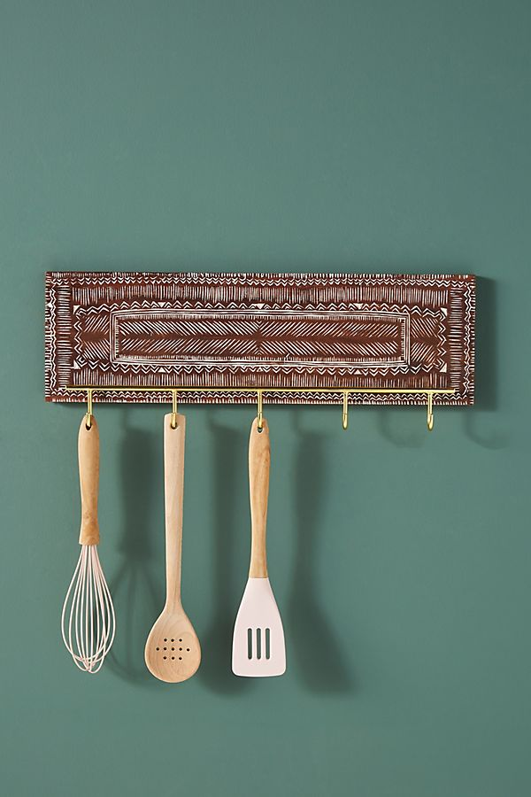 Slide View: 1: Emilia Utensil Rack