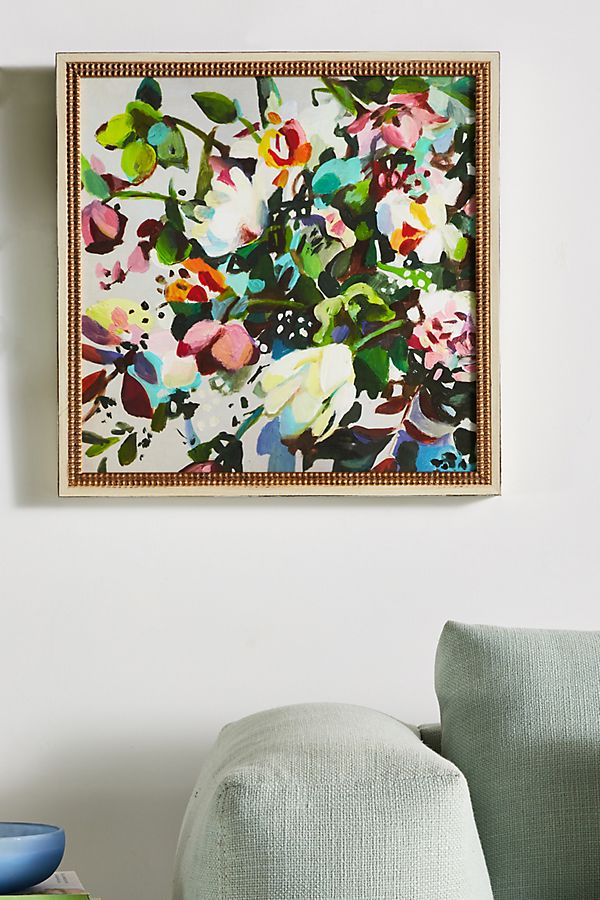 Slide View: 1: Flower Garden Wall Art