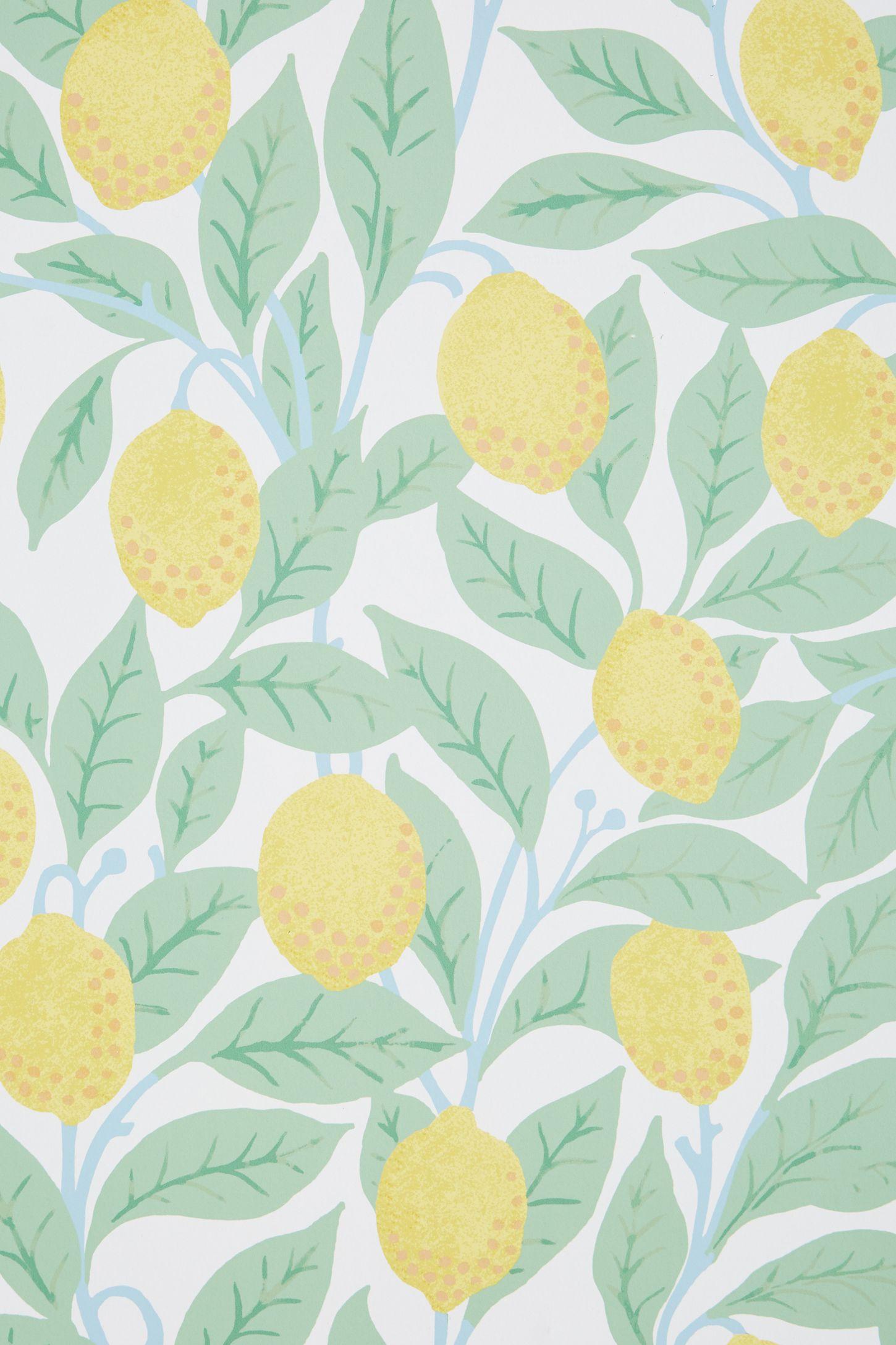 Lemons Wallpaper Anthropologie
