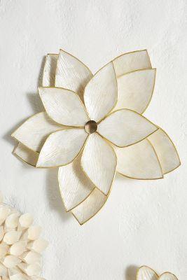 Capiz Wall Flower by Anthropologie