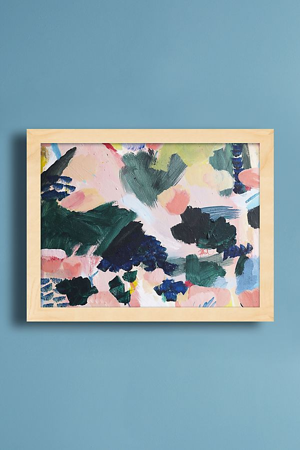 Buds Blossoming Wall Art Anthropologie Uk