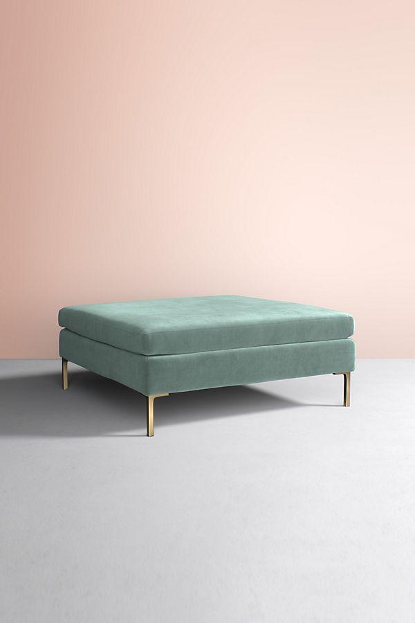 Swell Edlyn Velvet Cocktail Ottoman Anthropologie Uk Lamtechconsult Wood Chair Design Ideas Lamtechconsultcom