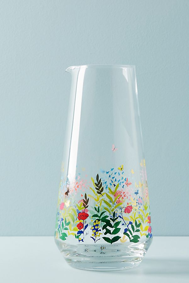 Spring Garden Carafe by Paule Marrot Paris for Anthropologie
