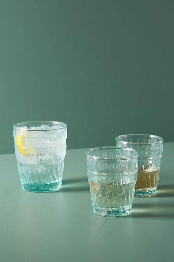 Slide View: 2: Riviera Water Glasses, Set of 4