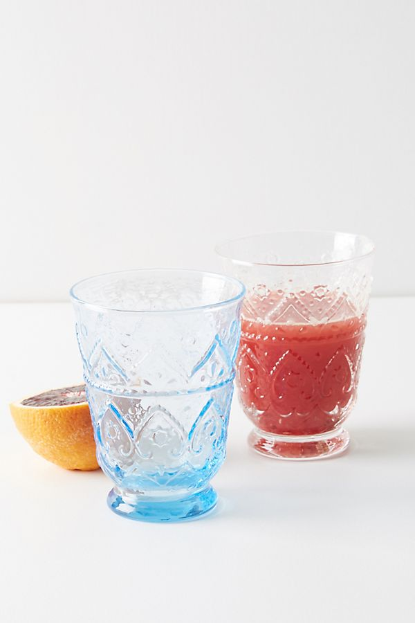 Slide View: 3: Bombay Juice Glasses, Set of 4