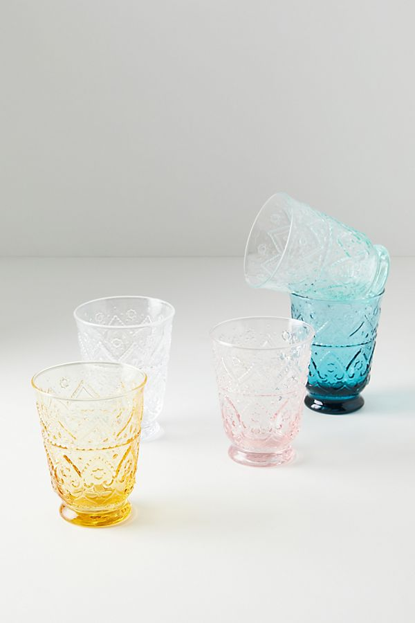 Slide View: 4: Bombay Juice Glasses, Set of 4