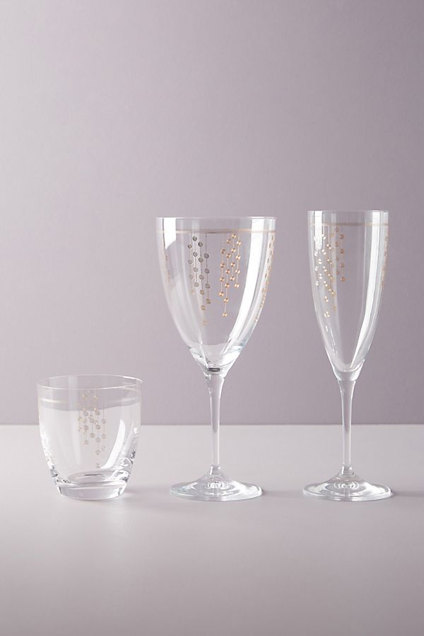 Slide View: 2: Petra Wine Glasses, Set of 4