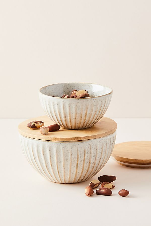 Slide View: 1: Ceramic Lidded Bowl