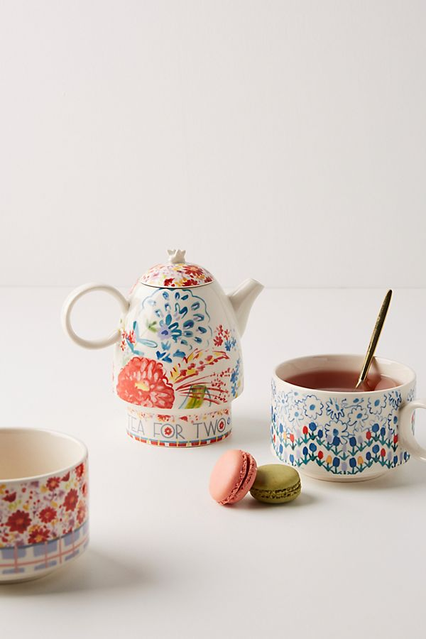 Slide View: 1: Mason Tea For Two Set
