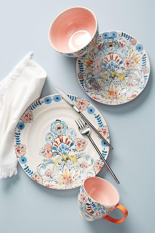 Slide View: 1: Eres Dinner Plates, Set of 4