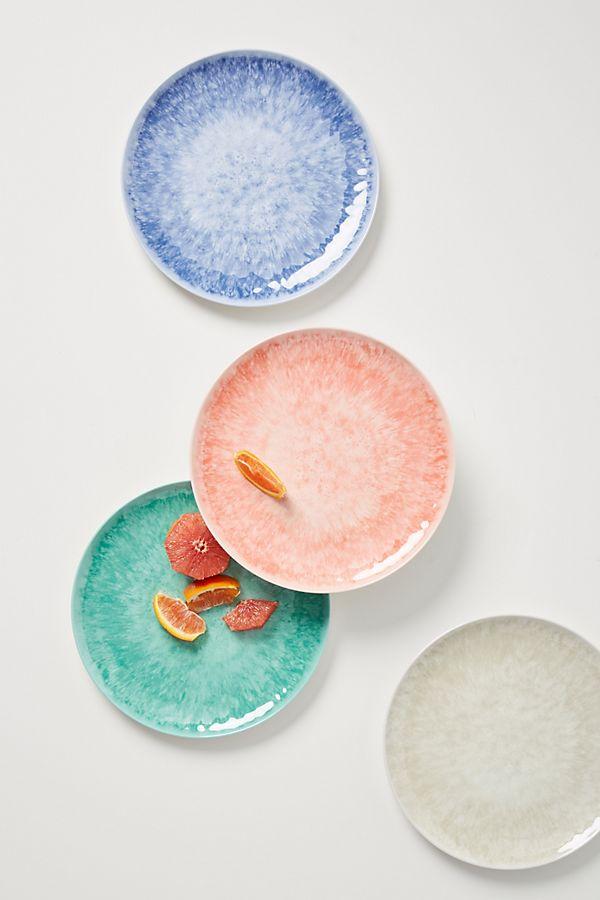 Slide View: 3: Lehua Melamine Dinner Plates, Set of 4