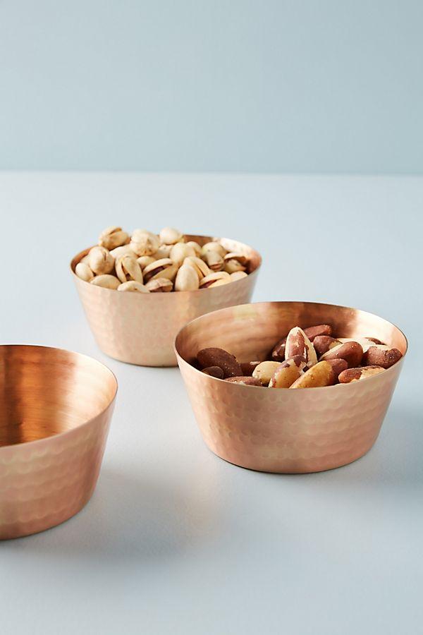 Slide View: 1: Luna Nut Bowls, Set of 3