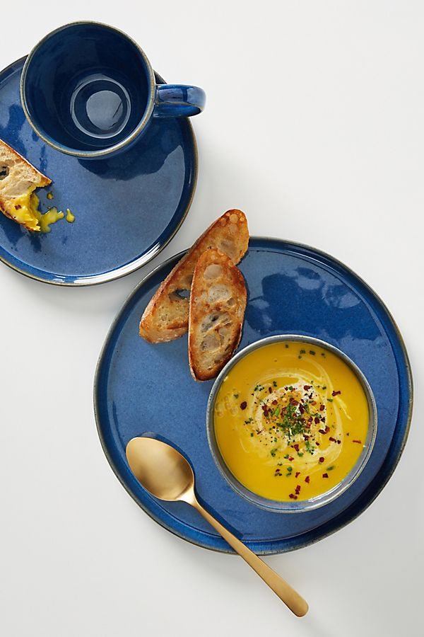 Slide View: 1: Tess Dinner Plates, Set of 4