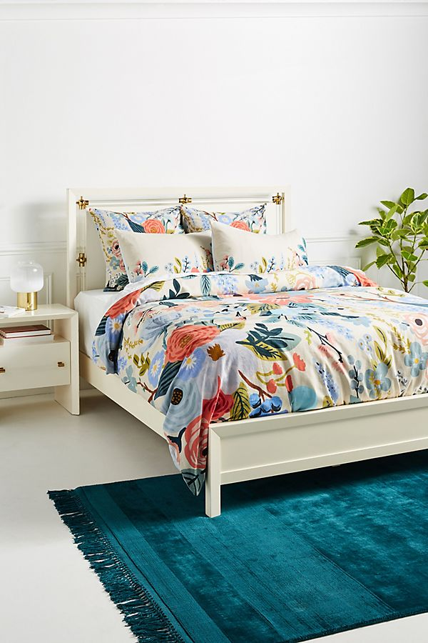Slide View: 1: Rifle Paper Co. for Anthropologie Garden Party Duvet Cover