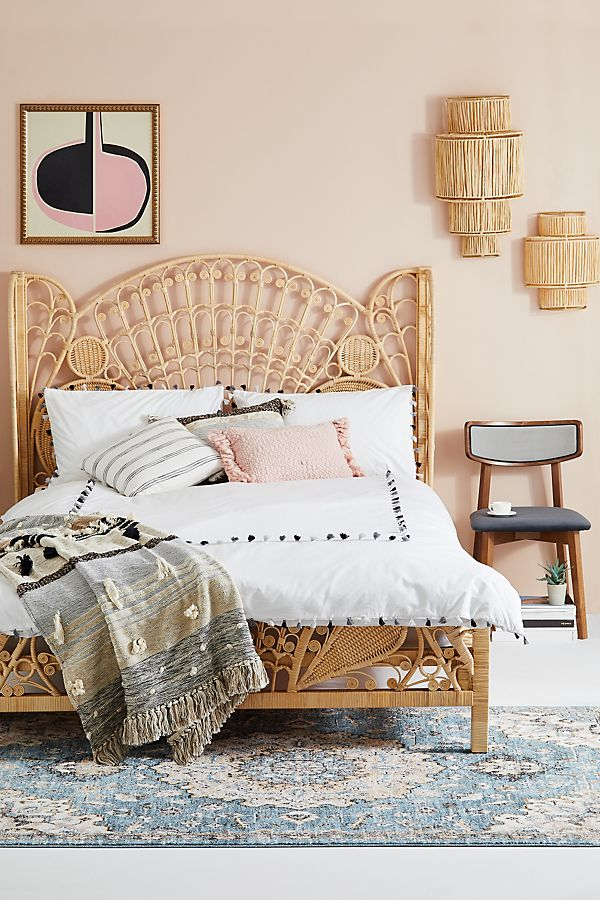 Ortega Mono Duvet Set by Anthropologie