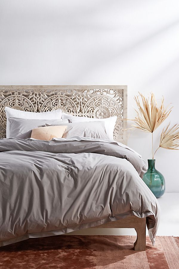 Slide View: 1: Alterra Pure Percale Duvet Cover