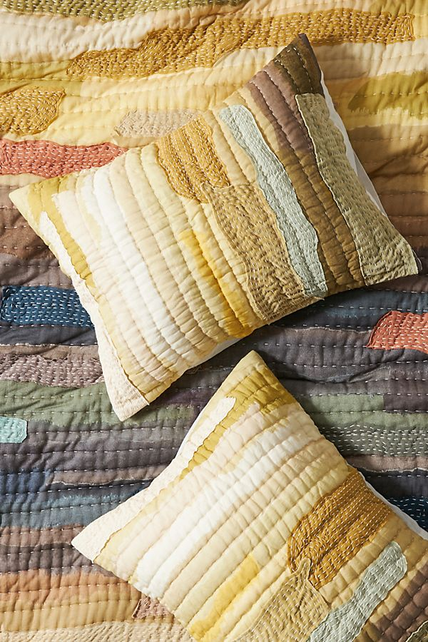 Set of 2 Vivie Patchwork Pillowcases