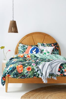 Holly Organic Cotton Duvet Cover Anthropologie