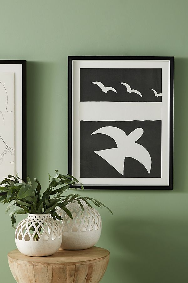 Slide View: 3: Birds Wall Art