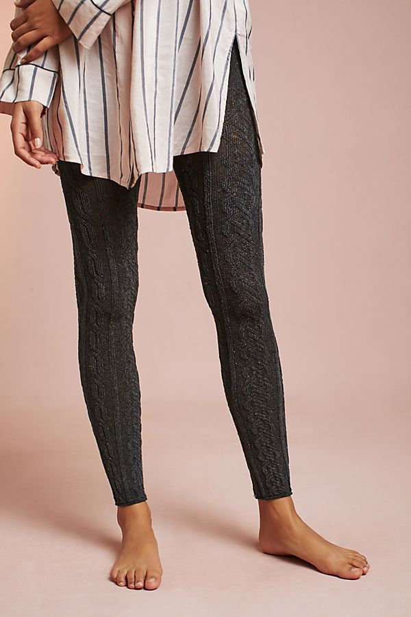 575132edef349 Cableknit Leggings | Anthropologie