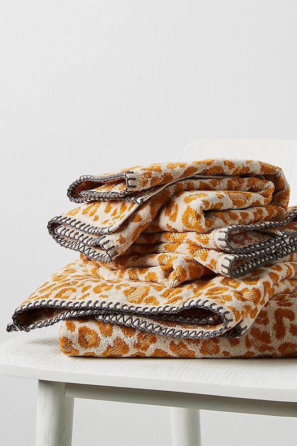 Slide View: 3: Lola Leopard Towel Collection