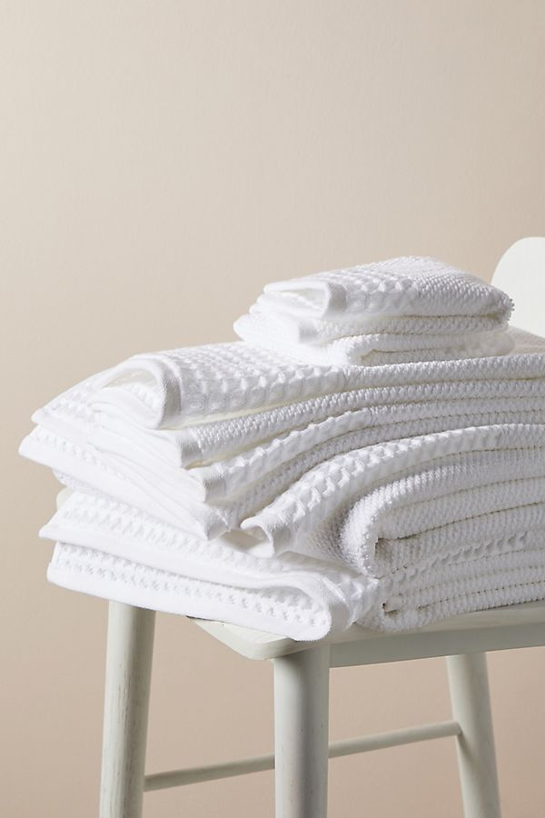 Slide View: 2: Irving Waffle Towel Collection