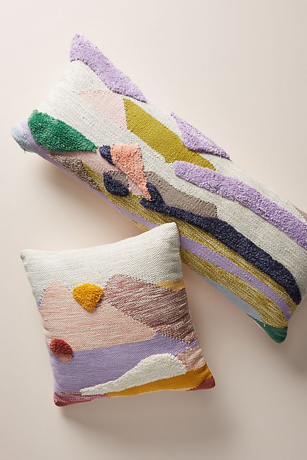 Tufted Throw Pillows for Spring at Anthropologie