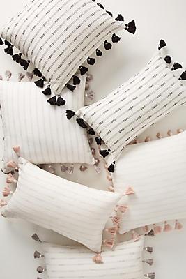 Slide View: 1: Tasseled Pendana Pillow