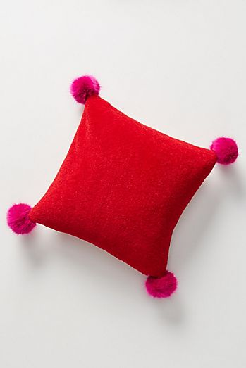 Red Sofa Bed Cushions Throws Anthropologie