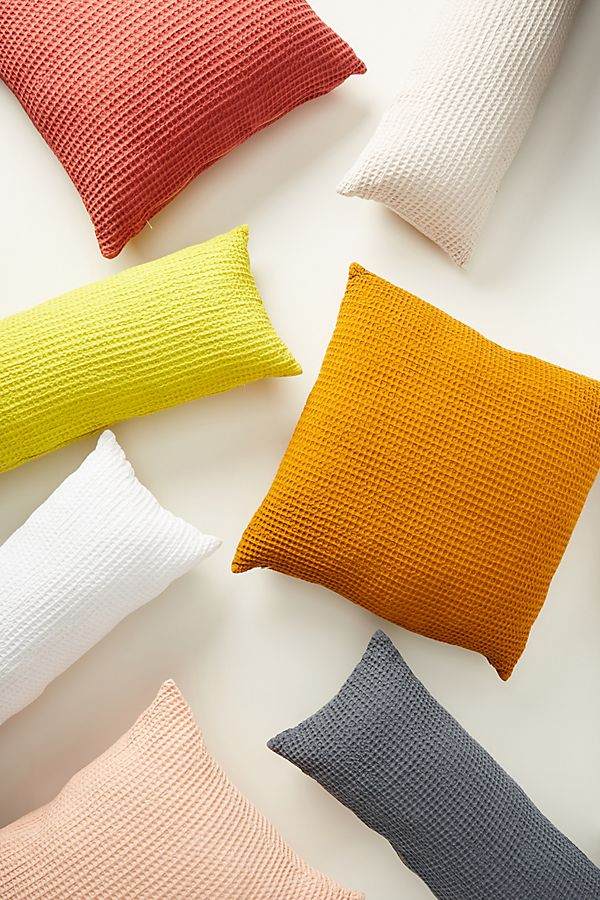 Slide View: 6: Woven Waffle Pillow