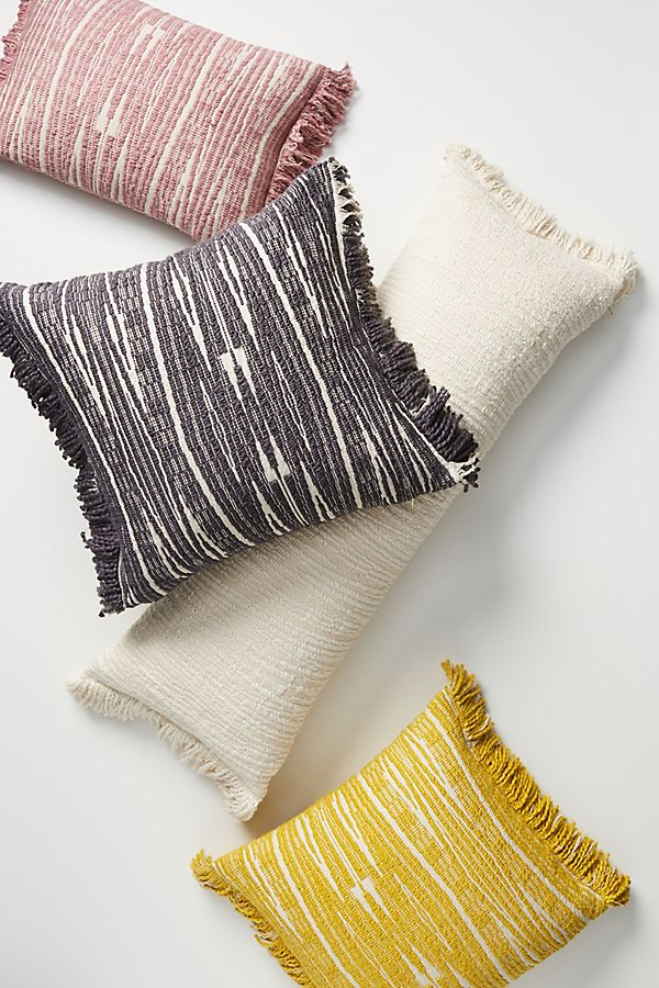 Slide View: 1: Textured Kadin Pillow
