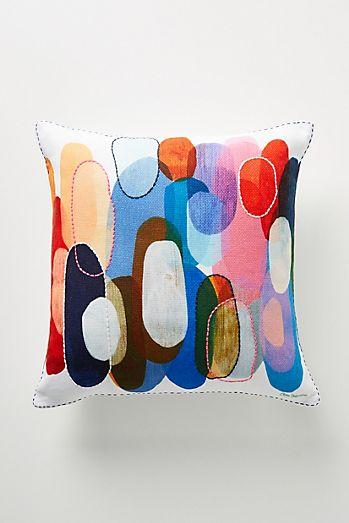 Claire Desjardins Kaleidoscope Pillow