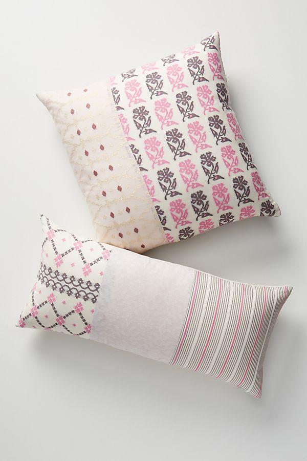 Slide View: 1: Aurelia Patchwork Pillow