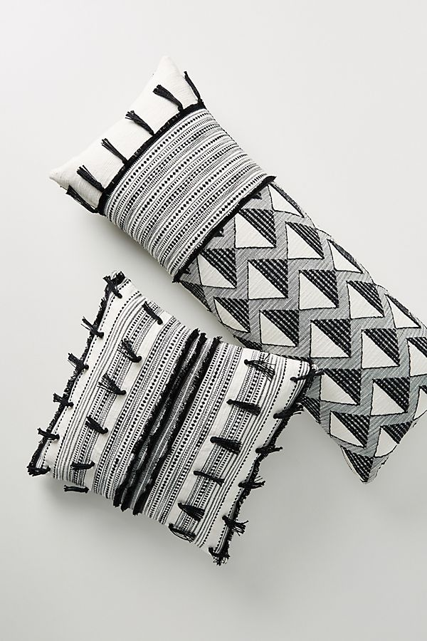 Slide View: 1: Jacquard-Woven Libby Pillow